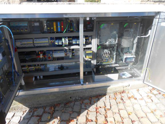 AWA Gemeinde Kolitzheim Pumpwerk Lindach